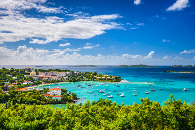 Cruz Bay, St John, United States Virgin Islands.