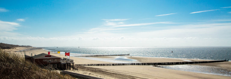 Sunny Beach at Zoutelande / Netherlands