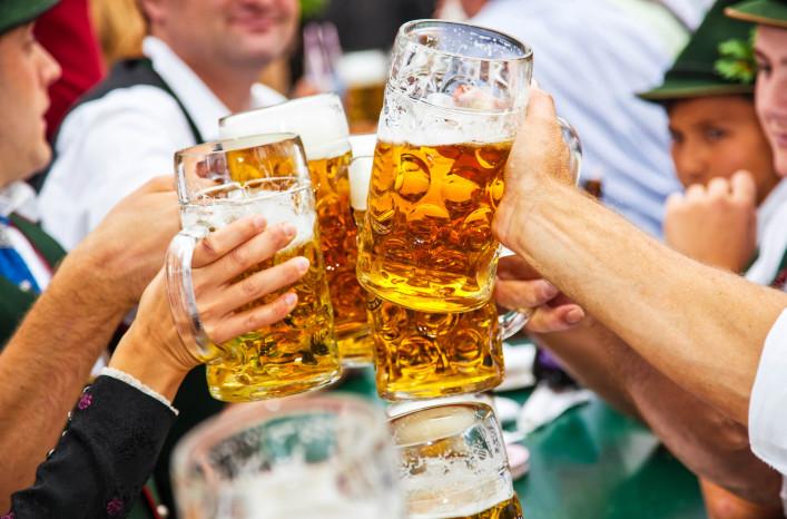 Oktoberfest München Wiesn Maß