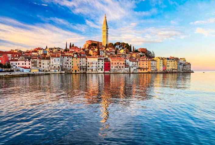Rovinj Altstadt Kroatien Istrien