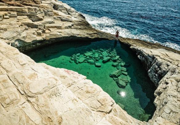 Thassos Blaue Lagune