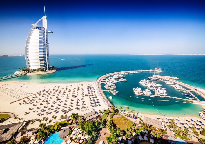 Silvester in Dubai Burj Al Arab Hotel