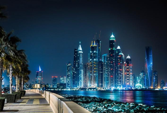 Silvestern in Dubai Marina