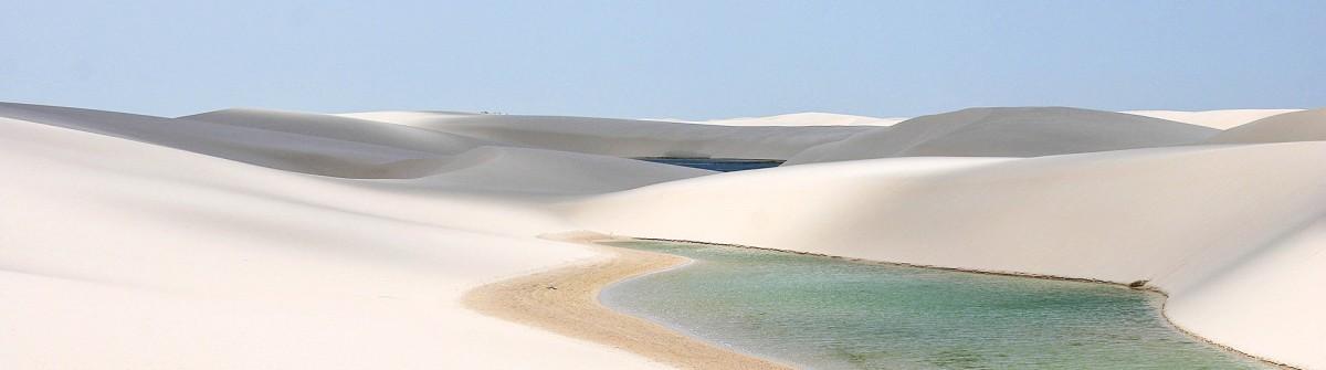 Lencois Maranhenses Wüste Brasilien