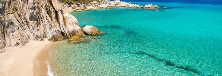 Die Halbinsel Chalkidiki auf dem griechischen Festland ist ein Paradies für Strandliebhaber