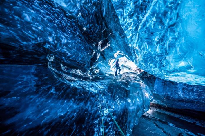 Eishöhle im Vatnajökull