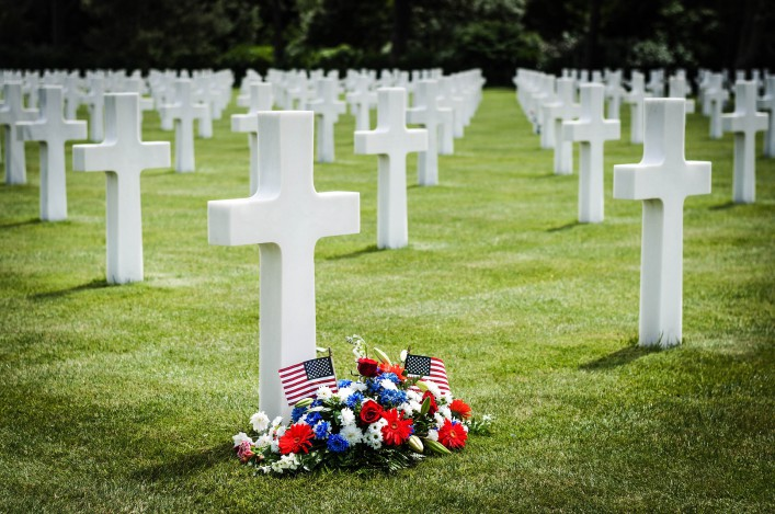 Omaha Beach Soldatenfriedhof