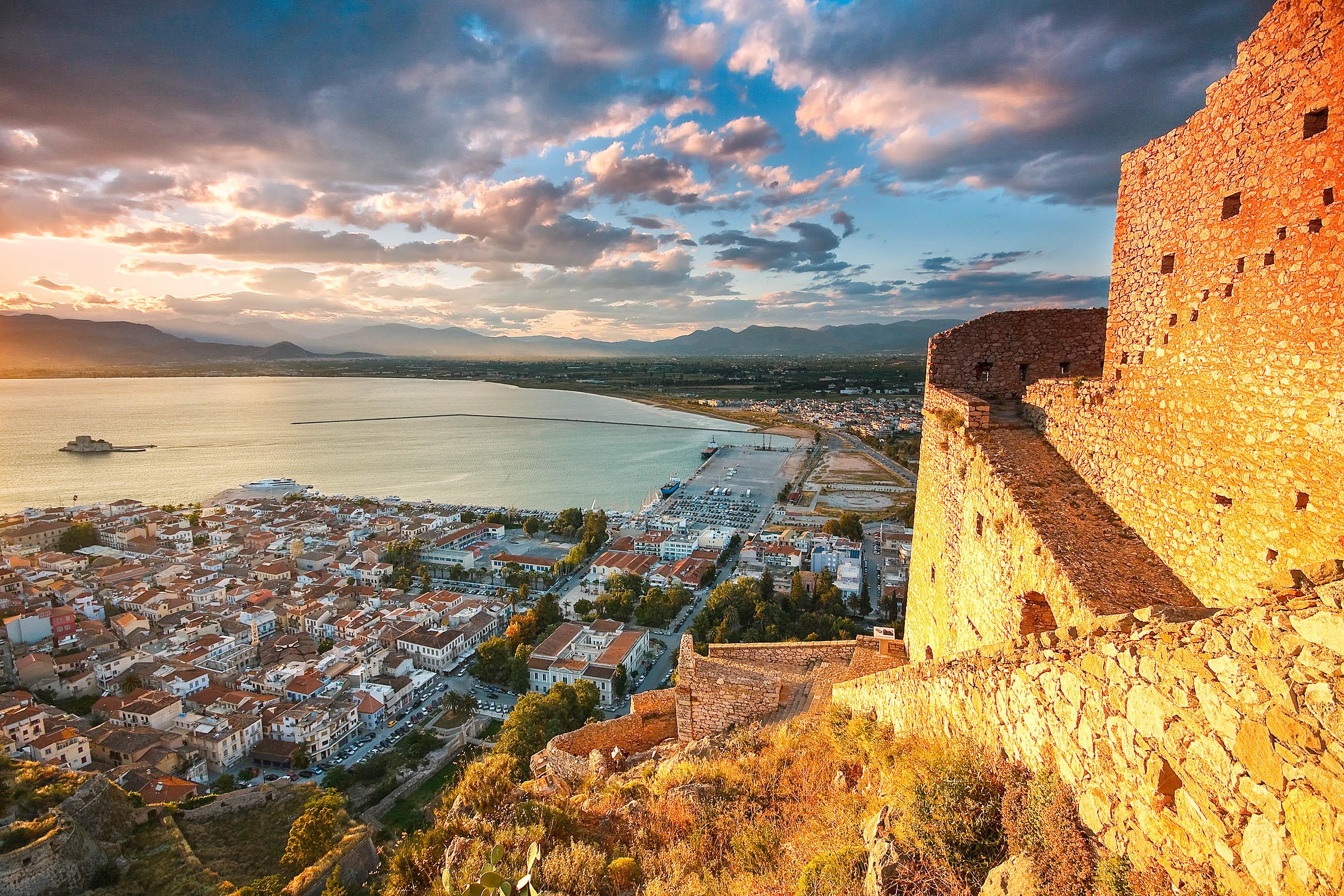 Griechenland Festland Nafplion
