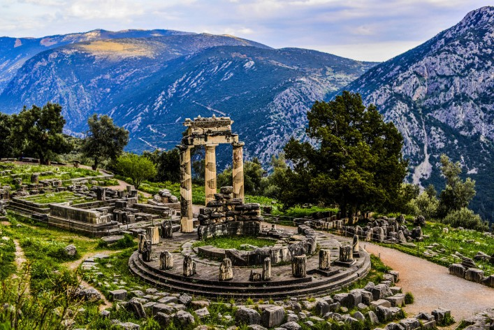 Sanctuary of Athena, Delphi Greece shutterstock_282952640-2