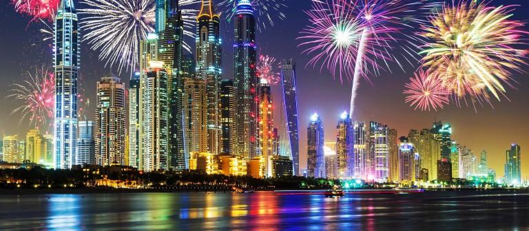 Silvester in Dubai