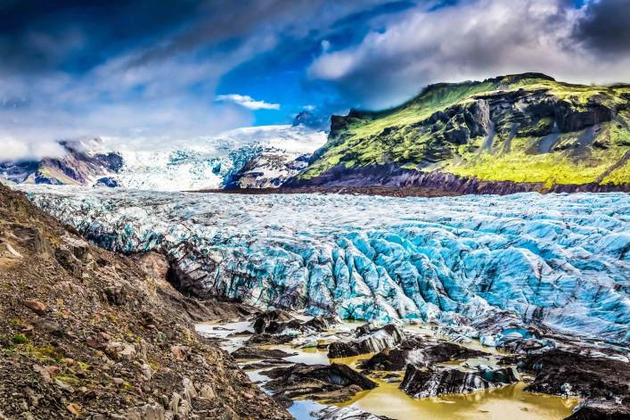 Vatnajökull Gletscher Island Eishöhlen