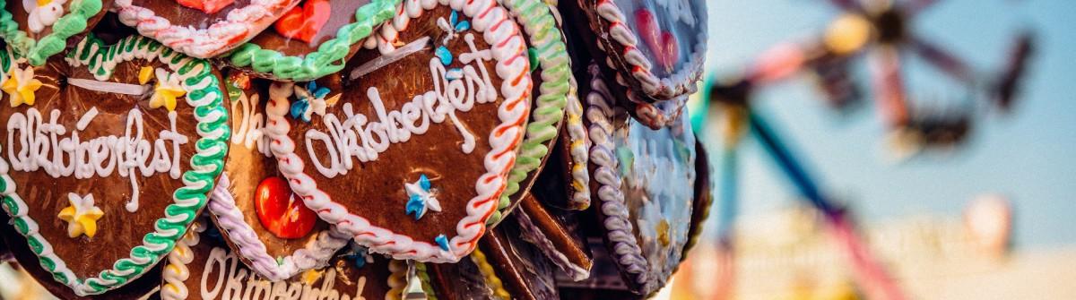 Oktoberfest München Wiesn Lebkuchenherz