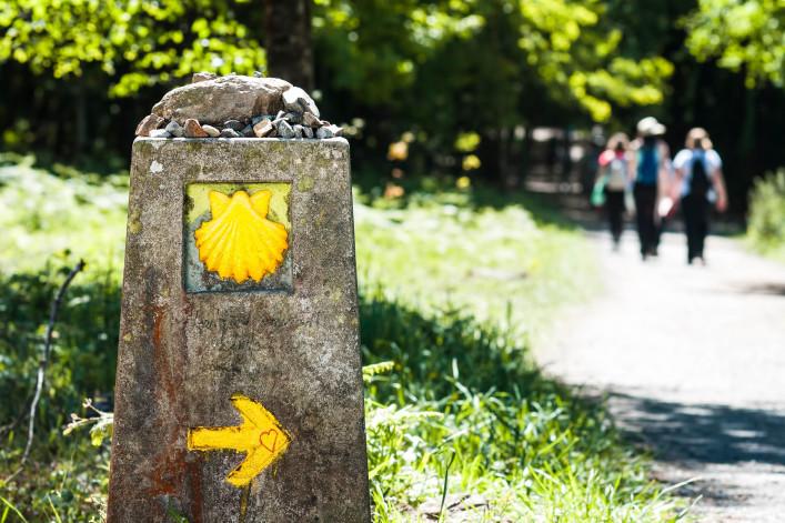 Jakobsweg pilgern Spanien