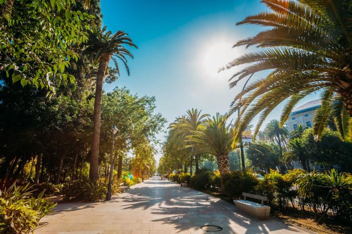 Malaga Park Natur