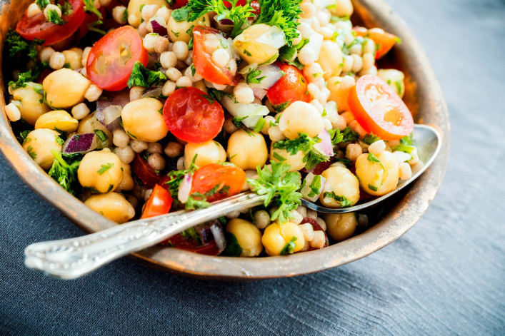 Chickpea and Couscous Salad