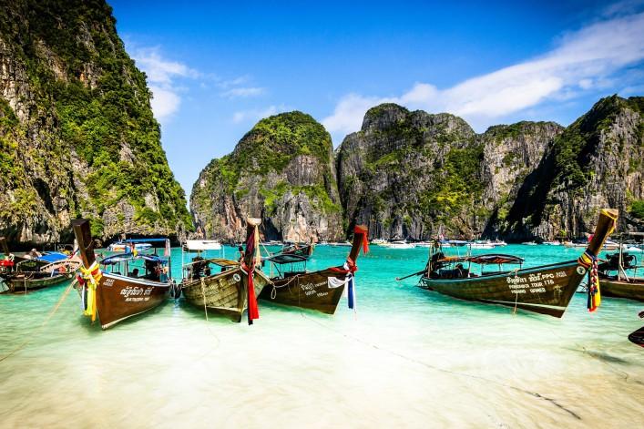 Die Insel Koh Phi Phi Krabi