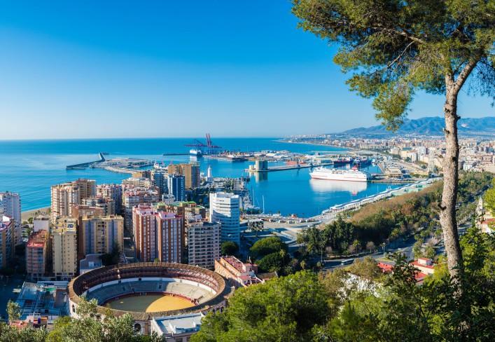 Malaga Spanien Andalusien