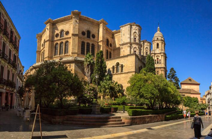Malaga La Manquita Kirche