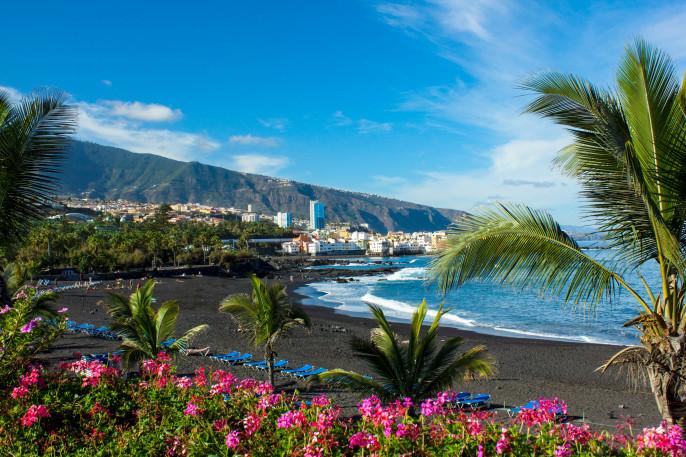 """playa Jardin, Tenerife, Spain"""