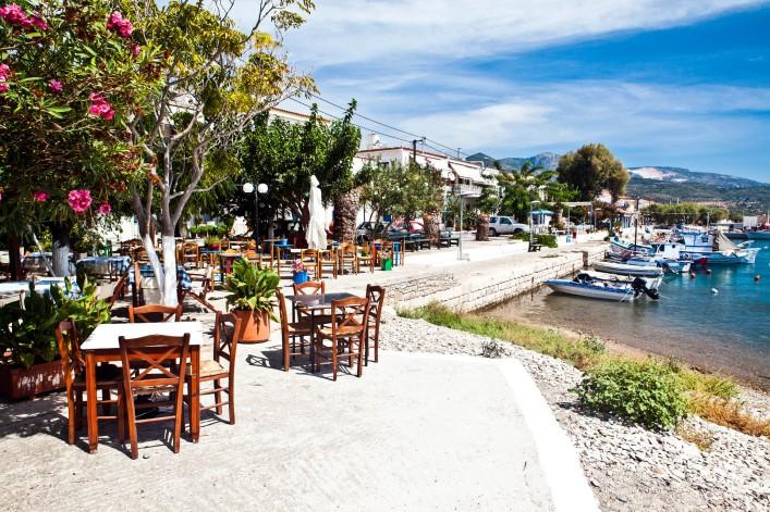 Taverne auf Samos