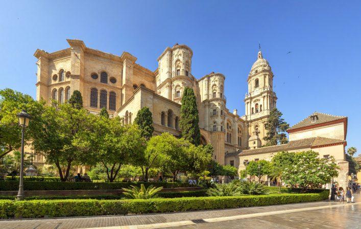 Malaga Kirche Iglesia Sehenswürdigkeit