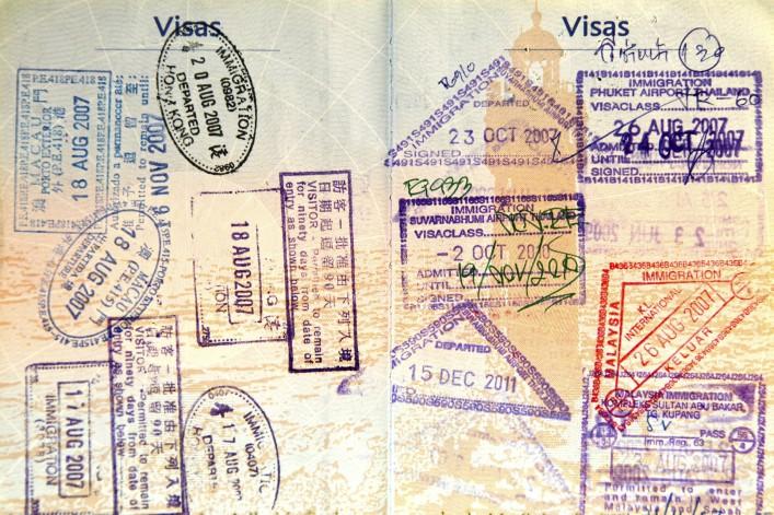 Reisepass-Ranking Visum