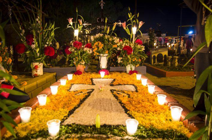 Tag der Toten Mexiko Halloween