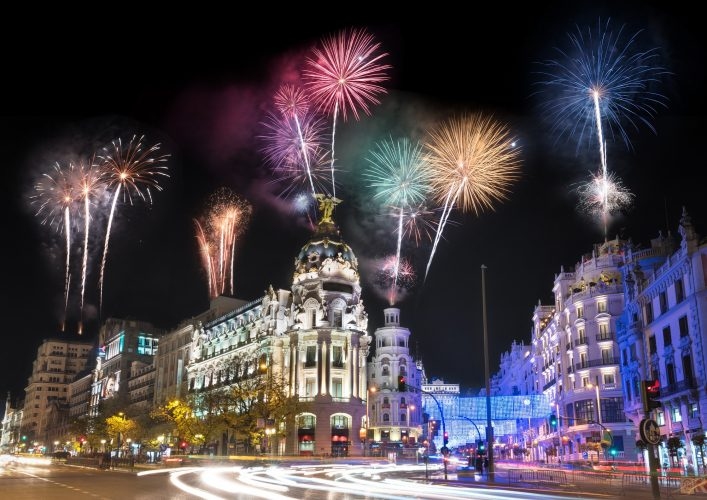 Silvester in Madrid