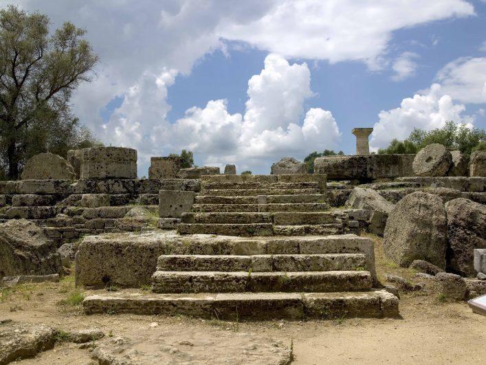Weltwunder Zeus Statue Tempel