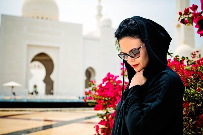 Scheich-Zayid-Moschee Kleiderordnung