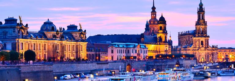 Dresden Elbe Night shutterstock_156386465-2