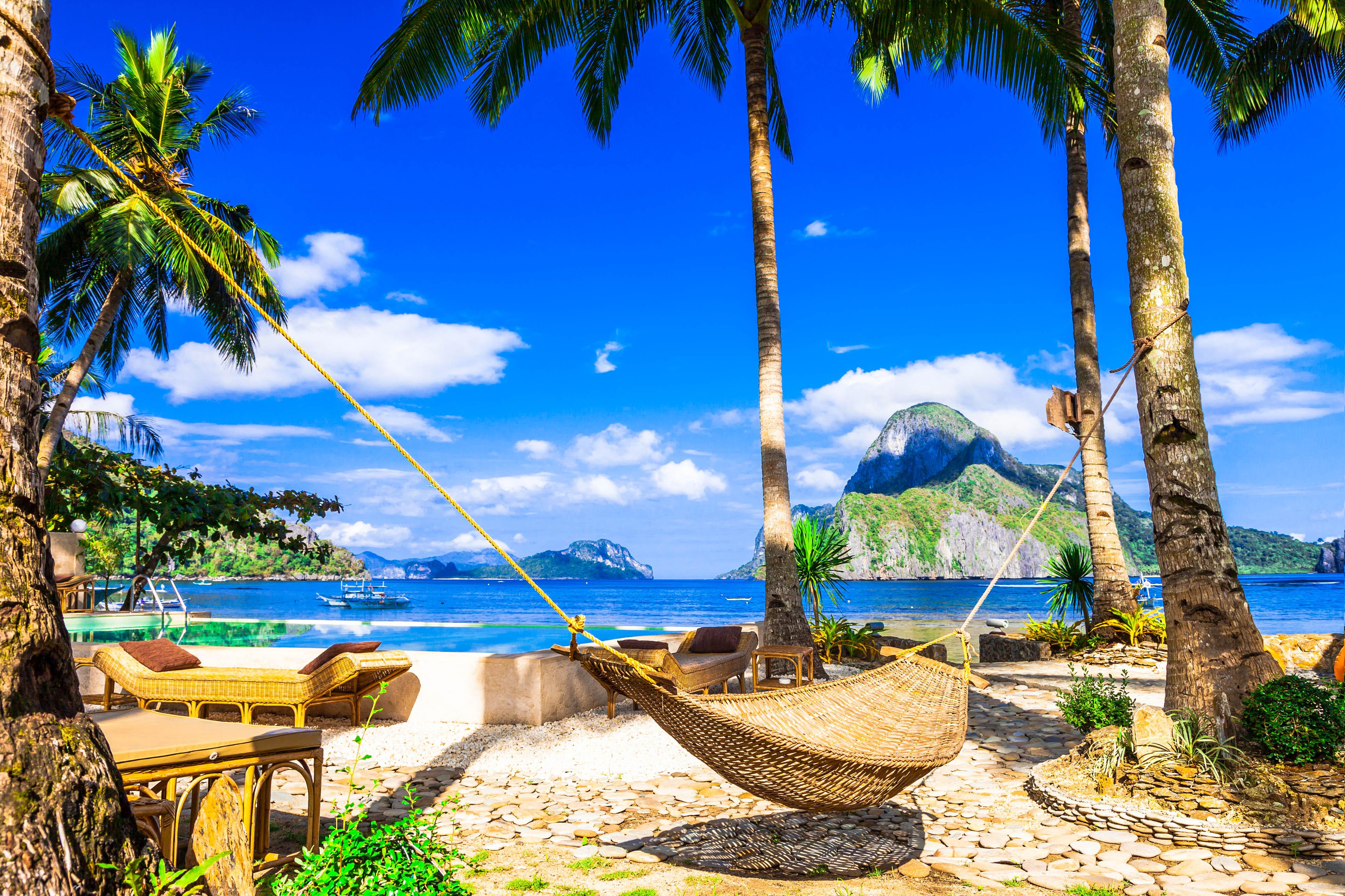 Insel Palawan Auf Den Philippinen