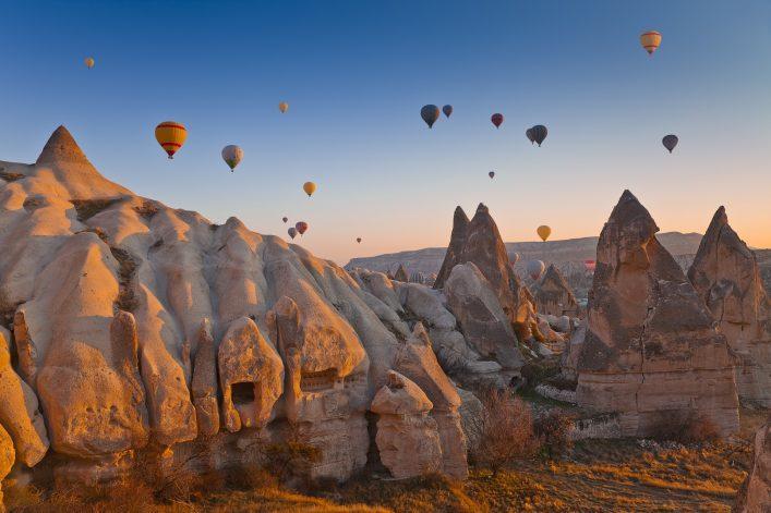 Kappadokien, Türkei, Tipps, Heißluftballon