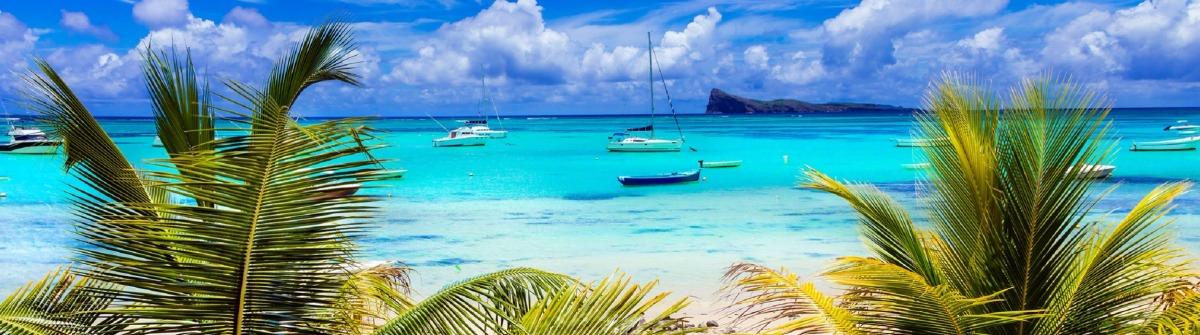 Tropical scenery – Cap Malhereux in Mauritius island