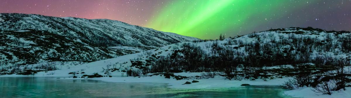 Nordlichter Norwegen Lufthansa