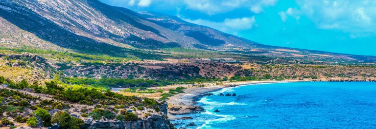 Mediterranean Sea And Rocky Coast Of Crete, Greece shutterstock_269175824-2 – Copy