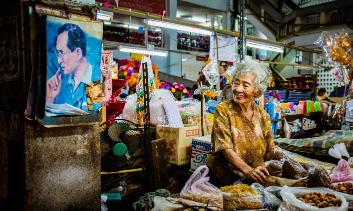 Thailands König Bhumibol tot