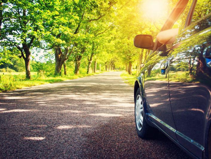 Umweltbewusst reisen Auto