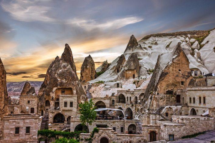 Kappadokien, Nationalpark Göreme, Türkei, Höhlen