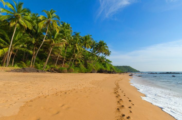 Goa, Indien, Strand
