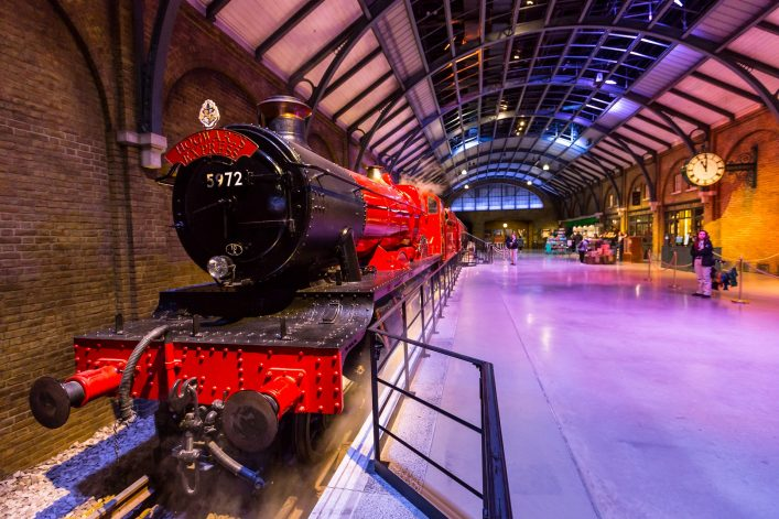 Warnes Bros Studio Tour London Harry Potter EDITORIAL ONLY COO7 shutterstock 457262227