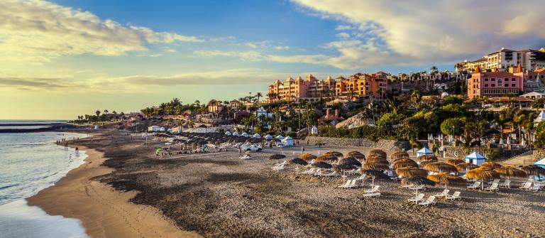 Beach Las Americas in Tenerife island – Canary Spain shutterstock_282765683-2