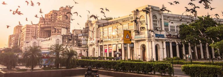 Connaught Place, New Delhi, India – CNGLTRV1109