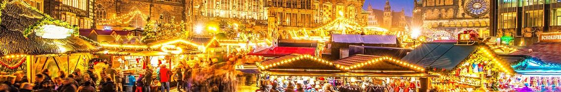 bestemmingen december kerstmarkten in Duitsland