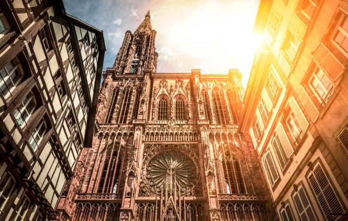 Cathe?drale Notre Dame de Strasbourg