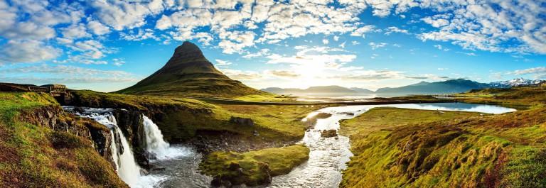 Panorama – Iceland landscape