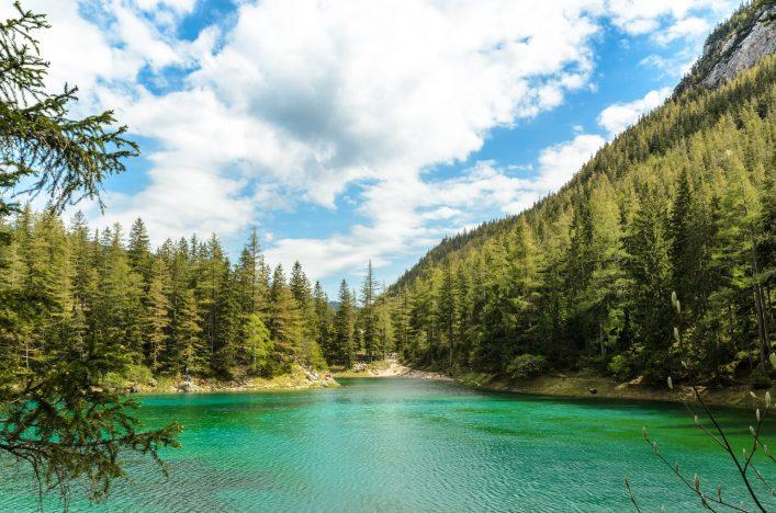 Steiermark, grüner See