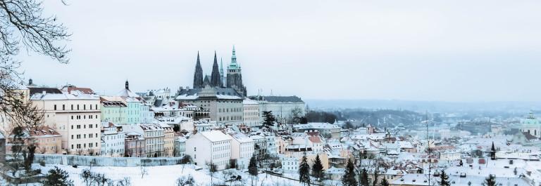 winter fairy tail at Prague.