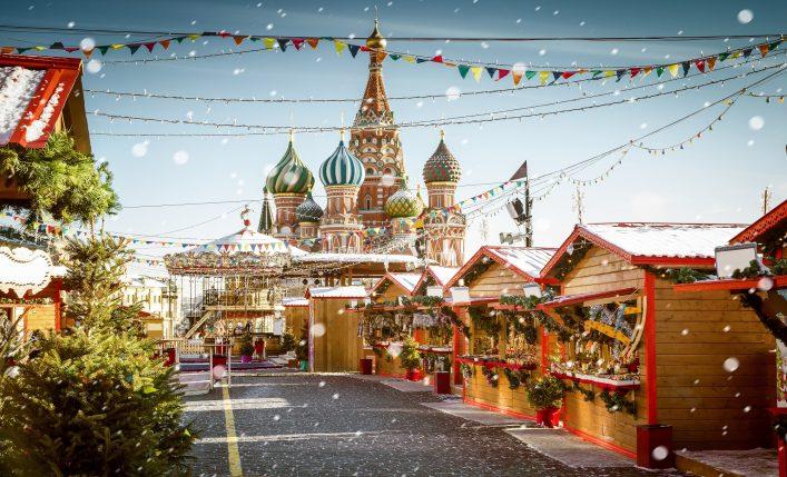 Weihnachten weltweit Russland