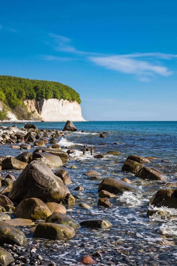 Chalk cliff on the island Ruegen in Germany_shutterstock_342150134-1